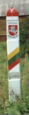 Lithuanian boundary marker