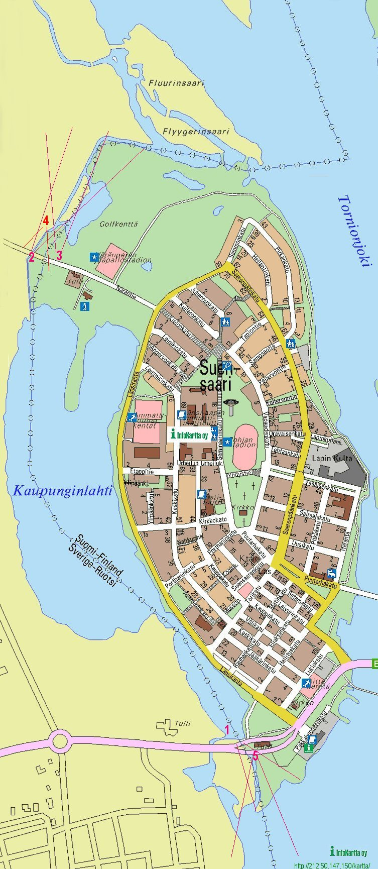 TornioHapar Map