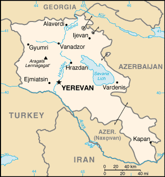 CIA -- The World Factbook 2000 -- Armenia