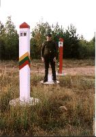 Me on the southermost spot in Lithuania